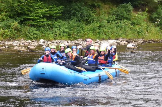 Edinburgh - Whitewater Rafting in...