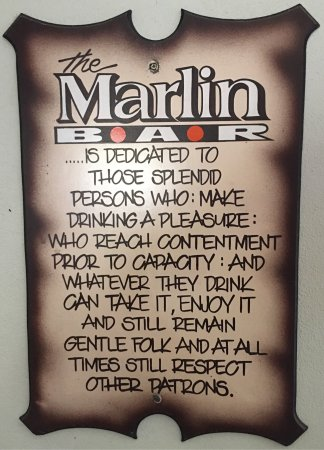 Lunch At The Marlin.