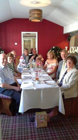 Gretna, UK: Wedding meal