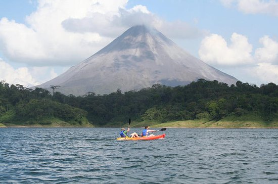 Kayaking on the Lake from Arenal