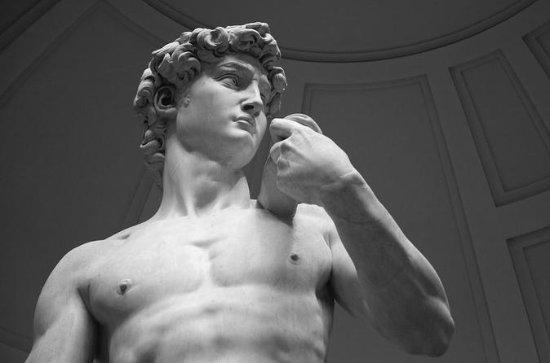 Van mit Blick und Accademia Gallery...