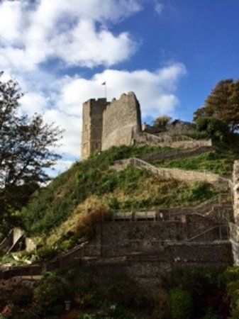 Lewes Castle.