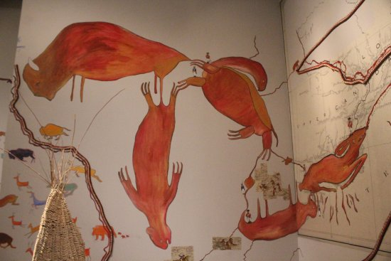 Musée des beaux-arts de l'Ontario : The Great Lakes...as depicted by Anishnaabe artist Bonnie Devine.