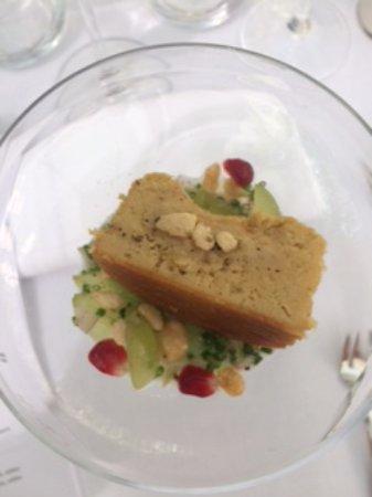 Le Safran : Amuse bouche fondant de foie gras