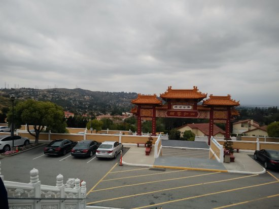 Hacienda Heights, CA: View from Temple