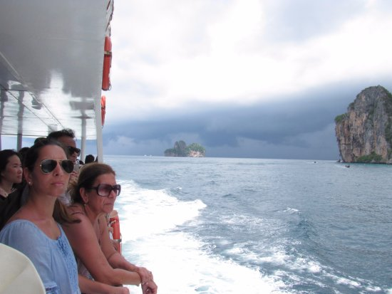 Chalong, Thailand: ferry acroos to Phi Phi
