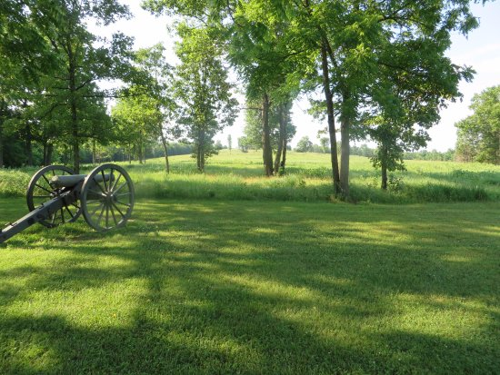 Republic, MO: View of the battlefield