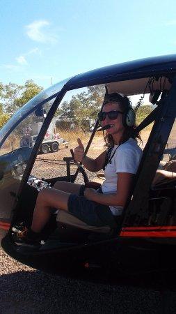 Katherine, ออสเตรเลีย: myself in the front seat!