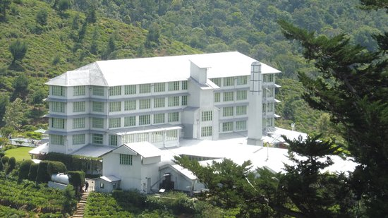 Heritance Tea Factory: This is what the tea factories look like but this one has been converted into a hotel.