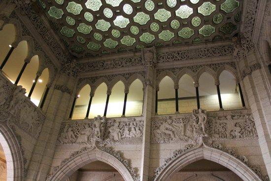 Ottawa, Canada: Parliament house interior