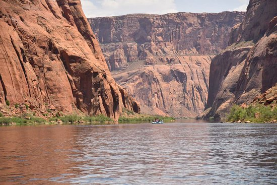 Colorado River Discovery: the amazing view