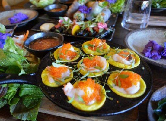 Balmain, Australia: Delicious Starters at Phamous Kitchen