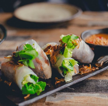 Balmain, Australia: Delicious Rice Paper Rolls