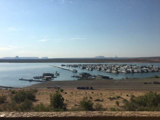 Lake Powell Resort: il panorama dalla camera