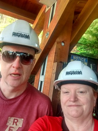 Britannia Mine Museum: My husband and i