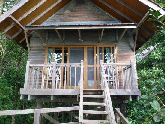 Permai Rainforest Resort: No 10 Double balcony very nice