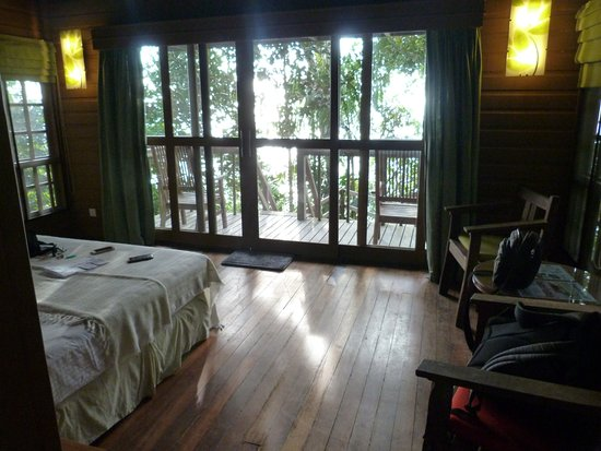 Permai Rainforest Resort: Big room nice bathroom/wet room great view