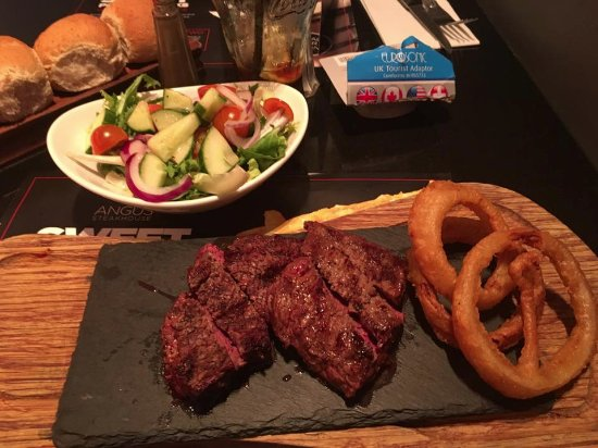 Angus Steakhouse - Leicester Sq: Bistecca di angus