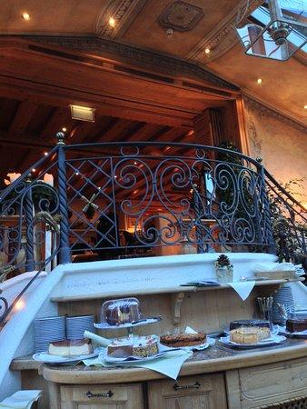 Hotel Zur Tenne Restaurant: The gazebo facing the Main Street