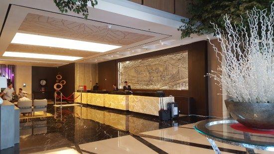 the lobby picture of crowne plaza bandung bandung tripadvisor rh tripadvisor com