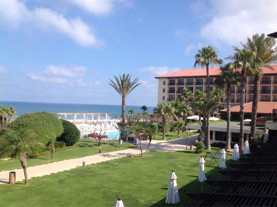 Dan Accadia Hotel Herzliya: View from Garden room 144
