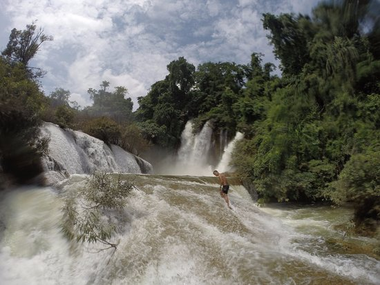 Lashio, Myanmar: waterfalls