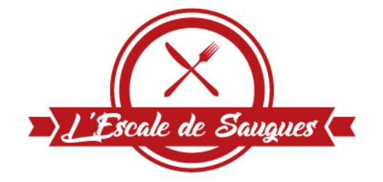 Saugues, France: Logo Escale