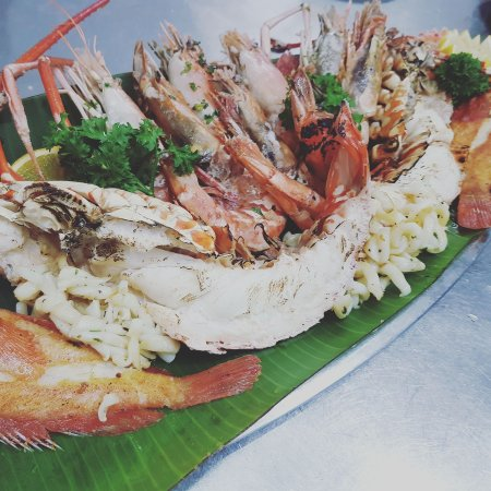 Cap Malheureux: Nos fruits de mer/ Our Seafood