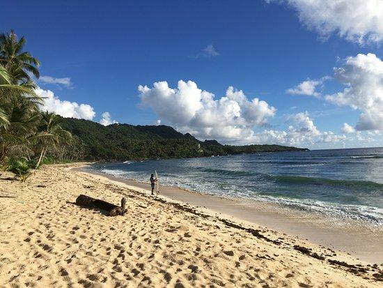 San Isidro, Filippinerna: Beach front