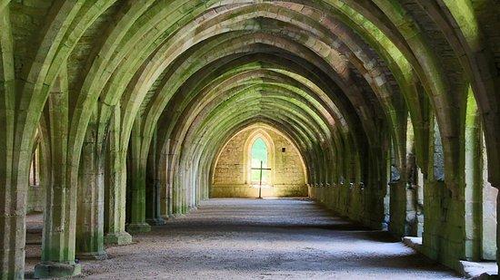Рипон, UK: Fountains Abbey