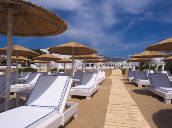 Golden Beach, กรีซ: Sal Y Mar Beach Lounge