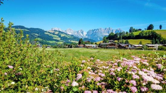 Reith bei Kitzbühel, Österreich: View from car park