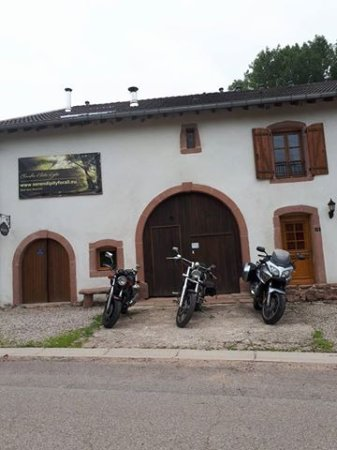 Saint-Die-des-Vosges, France : Bikers welcome!