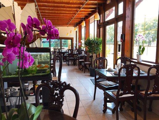 Portet-sur-Garonne, Frankrijk: vallees d asie restaurant portet salle