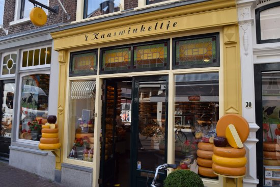The best cheese shop in Gouda.