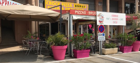 Callian, Francia: Crock pizza
