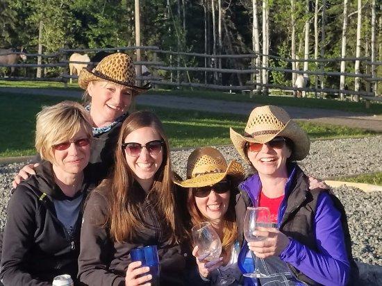 Bridge Lake, Canada: The Girls - happy weekend! :)
