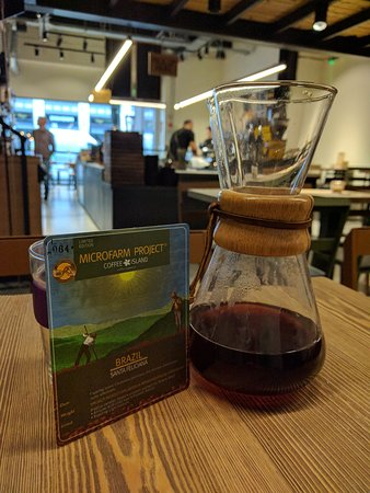 Syphon on the go, produces a smooth result - Picture of