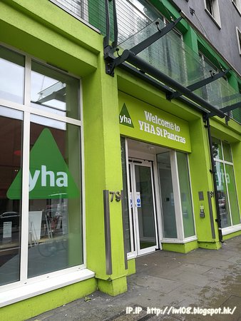 YHA London St Pancras: 旅舍的外觀