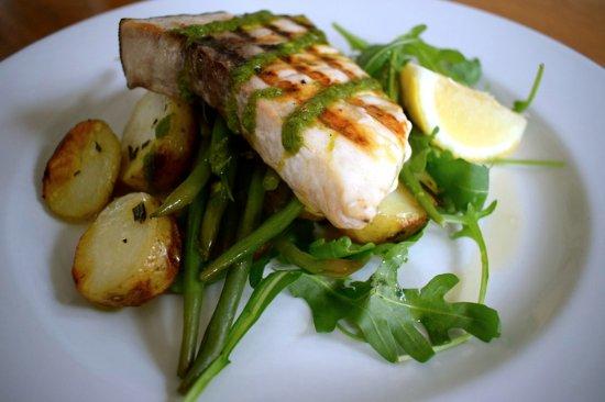 Clevedon, UK: Grilled Swordfish