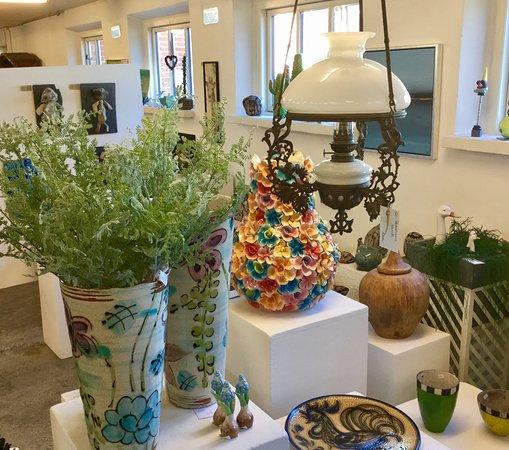 Bogense, Дания: Et lille glimt fra stueetagen