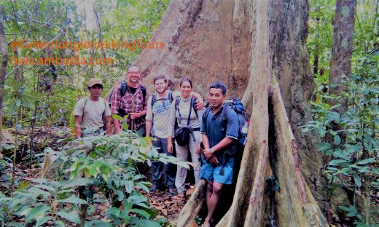 Banlung, Cambodja: Photo in taken during 3day trekking in Virachey National Park