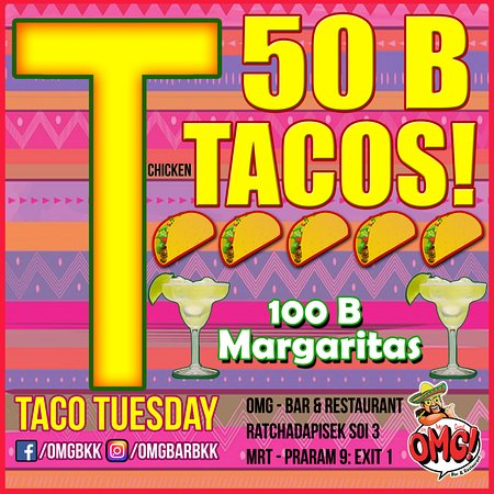 Taco Tuesday Deals Picture Of Omg Bar Restaurant