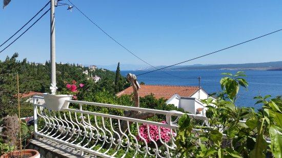 Appartement Duda: Blick vom Balkon