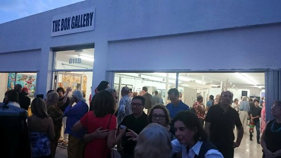 Opening Reception at The Box Gallery