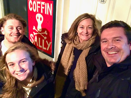 Port Fairy, Australien: Four happy customers.