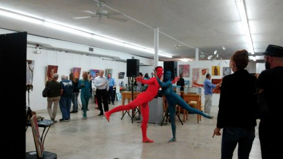 The Box Gallery is a Multidisciplinary Space that features live Performance