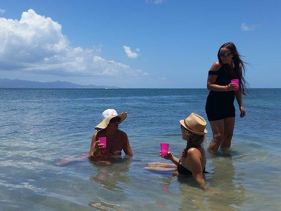 Le Gosier, Guadeloupe : pas belle la vie !!!
