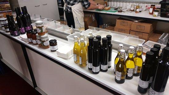Pokolbin, Australia: The lovely condiments to sample