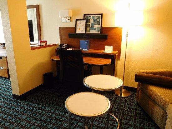 Loveland, CO: Desk area